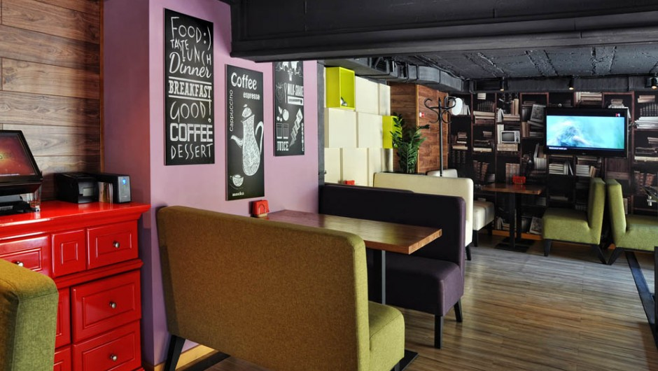 Design of the restaurant Coffee Time Restaurant, Khreshchatyk Str., 282, Kiev