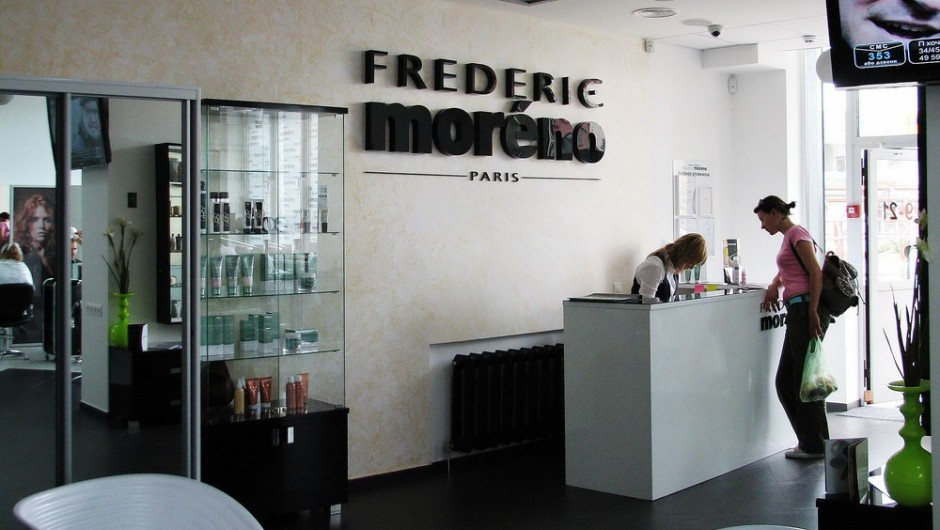 Design of the restaurant Beauty Salon Frederic Moreno, Mishugi Street, 8