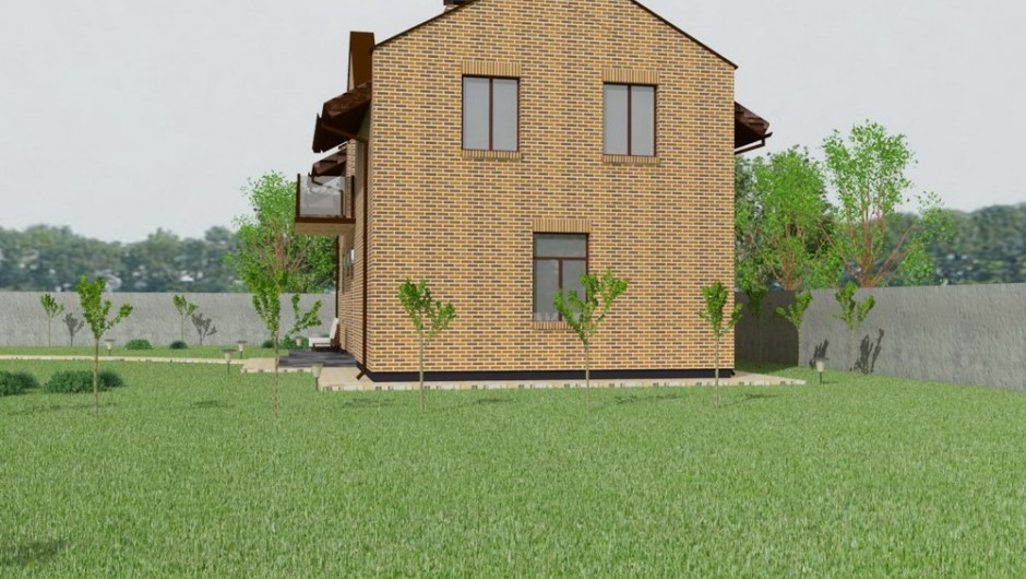 Design of the restaurant House project in Boyarka (1)