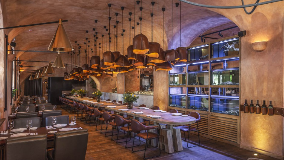 Design of the restaurant Restaurant iLRiccio, Podil, Kiev