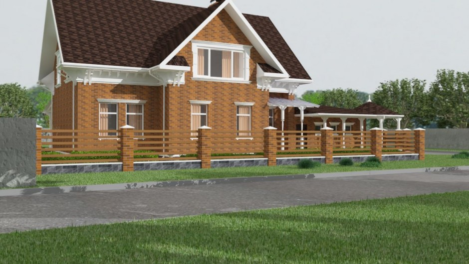Design of the restaurant Cottage in the Chabany village (2)
