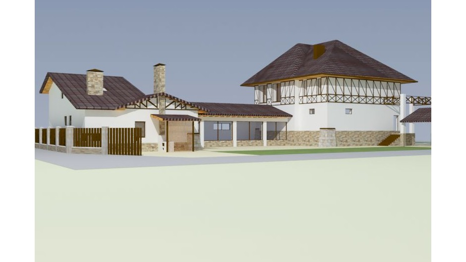 Design of the restaurant Pool in Irpin