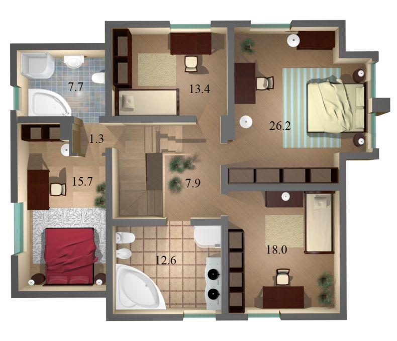 Как сделать удобную планировку квартиры 724